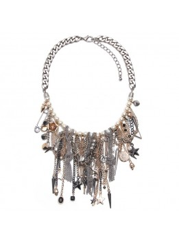 Long necklace bohemian Statement Necklaces jewelry & accessory vintage alloy tassel pendant fashion necklaces for women 2016