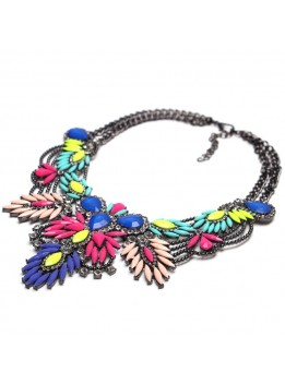 New Arrive Fashion Vintage Maxi Necklace Unique collar pendant Chunky Necklace Statement Jewelry for Women necklace Fine Jewelry