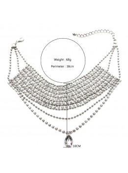 New design Choker fashion necklace For Women collar necklace & pendant luxury choker statement necklace maxi jewelry wholesale